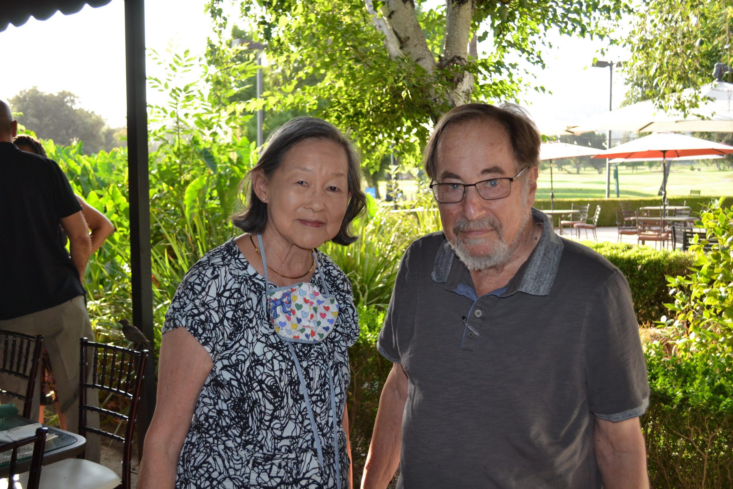 Alice Huang and David Baltimore 0199