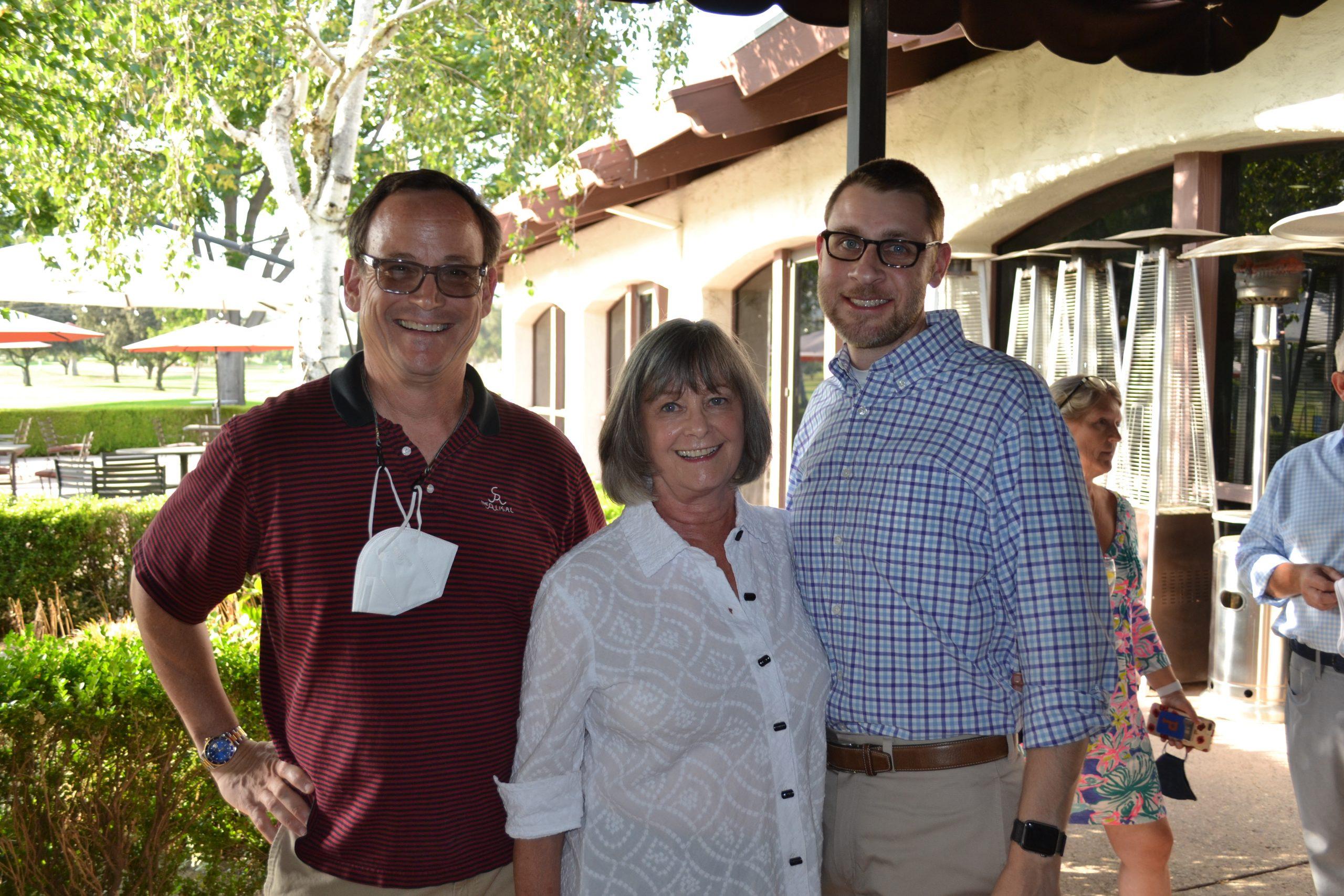 Civias -Andy Wilson, Margaret McAustin and James De Pietro 0197